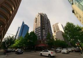 811 HELMCKEN,Vancouver,BC,Canada V6Z 1B1,2 Bedrooms Bedrooms,2 BathroomsBathrooms,Residential attached,HELMCKEN,R2299538