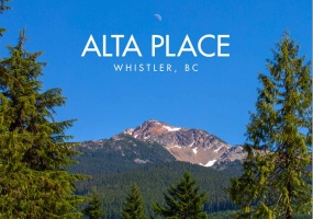 1511 ALTA, Whistler, BC, Canada V0N 1B1, ,Land only,For Sale,ALTA,R2501660